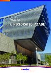VMZINC & perforated facade